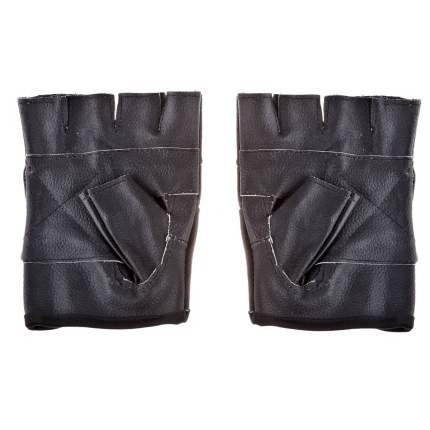 Перчатки для тяжелой атлетики и фитнеса Roomaif RWG-101, черные, L