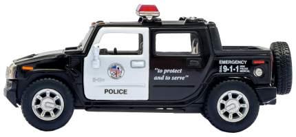 Машина инерционная Kinsmart Hummer H2 SUT Police, масштаб 1:40, металл, открываются двери