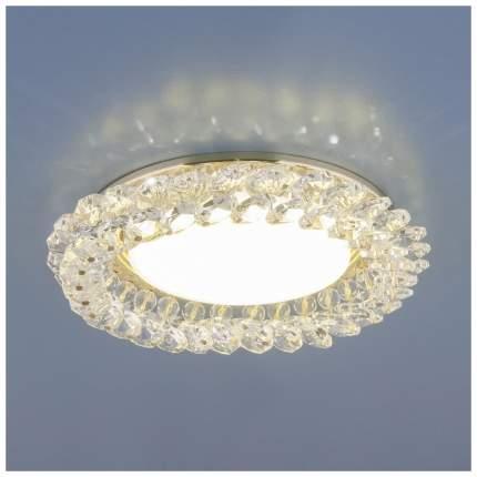 Встраиваемый светильник Elektrostandard 1063 GX53 GD/CL Золото/Прозрачный a034168