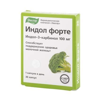 Индол форте Эвалар 230 мг 30 капсул