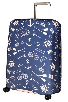 Чехол для чемодана Routemark Oldboy SP180 синий M/L