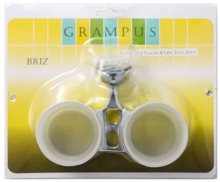 Стакан для зубных щеток Grampus Briz GR-3007 двойной