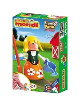 PLASTWOOD Магнитный конструктор Piccoli Mondi Super Farm, цвет: Daisy 0444