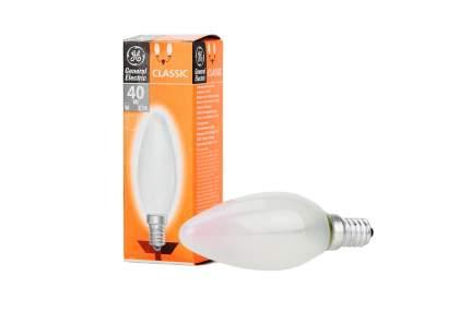 Лампочка General Electric 40C1/F/E14