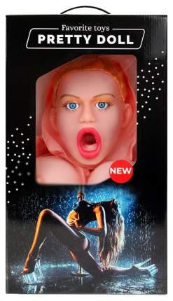 Надувная секс-кукла Bior toys Валерия с вибрацией