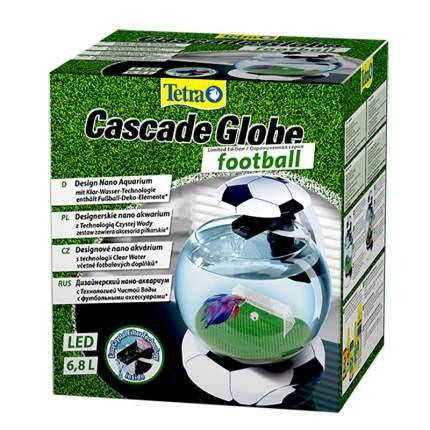Аквариум для рыб и петушков, Tetra Cascade Globe Football, бесшовный, 6,5 л