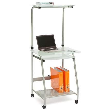 Компьютерный стол TetChair , серебристый