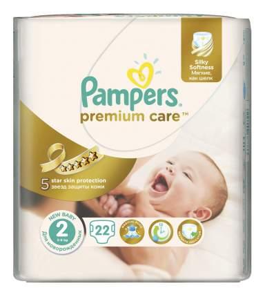 Подгузники для новорожденных Pampers Premium Care 2 (3-6 кг), 22 шт.