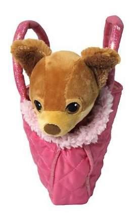 Мягкая игрушка 1 TOY Barbie плюшевая 18 см собачка чихуахуа в сумочке