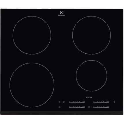 Встраиваемая варочная панель индукционная Electrolux EHH9654HFK Black