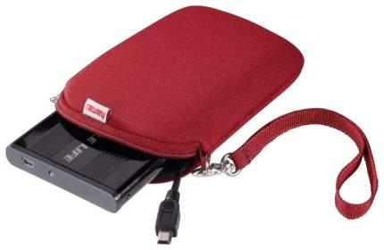 """Кейс для портативного USB диска/внеш.HDD Hama H-95507 Красный 2.5"""""""
