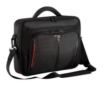 """Сумка для ноутбука 14.1"""" Targus CN412EU черная/красная"""