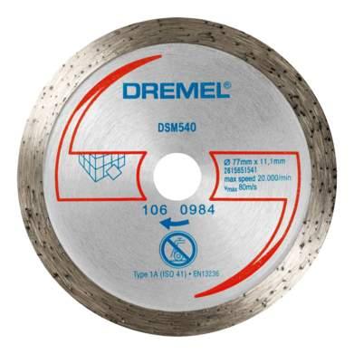 Отрезной диск по камню для угловых шлифмашин DREMEL 2615S540JA