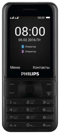Мобильный телефон Philips Xenium E181 Dual Sim Dark Gray