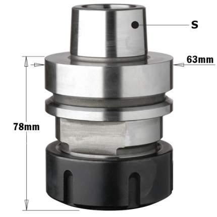 Патрон высокоточный для цанги ER40 S=HSK-F63 RH 183.310.01