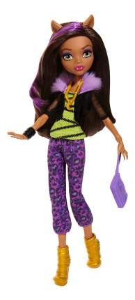 Кукла Monster High Клодин Вульф - Первый день в школе DNW97 DVH23