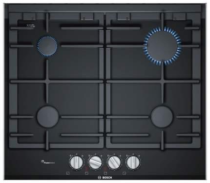 Встраиваемая варочная панель газовая Bosch PRP6A6D70R Black