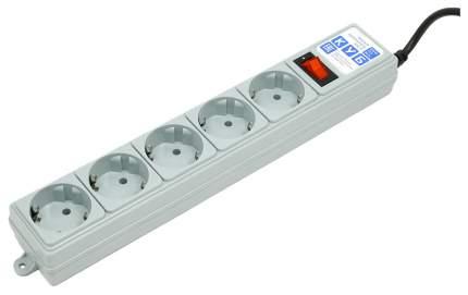 Сетевой фильтр Power Cube SPG-B-15 5 розеток 5 м серый