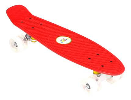 Скейтборд Leader Kids красный