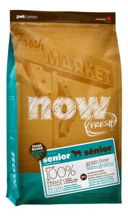 Сухой корм для собак NOW Fresh Senior Large, контроль веса, индейка, утка, овощи, 11,35кг