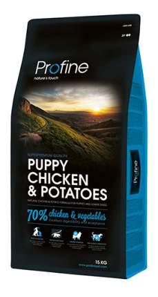 Сухой корм для щенков Profine Puppy Chicken & Potatoes, курица, картофель, 15кг