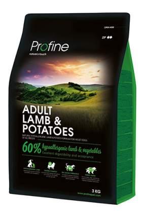 Сухой корм для собак Profine Adult Lamb & Potatoes, ягненок, 3кг