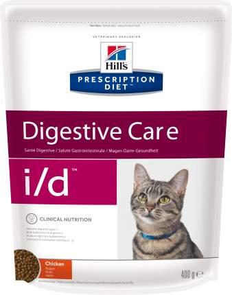 Сухой корм для кошек Hill's Prescription Diet Degistive Care, при патологии ЖКТ, 0,4кг