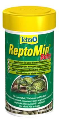 Корм для рептилий Tetra ReptoMin baby для молодых водных черепах, 100мл