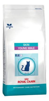 Сухой корм для котов ROYAL CANIN Skin Young Male, для кастрированных, до 7 лет, 1,5кг