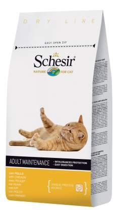 Сухой корм для кошек Schesir Adult, курица, 10кг