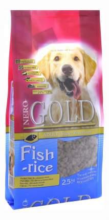 Сухой корм для собак NERO GOLD Adult, все породы, рыбный коктейль, рис и овощи, 2,5кг