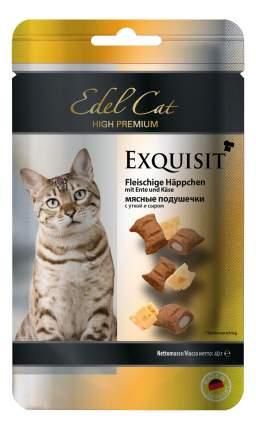 Лакомство для кошек Edel Cat мясные подушечки, утка, сыр, 0,04 кг