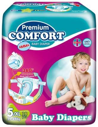 Подгузники Amma Premium Comfort 5 (11-25 кг), 18 шт.