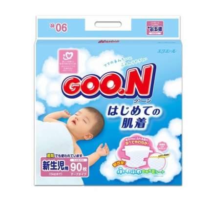Подгузники для новорожденных Goon NB (0-5 кг), 90 шт.