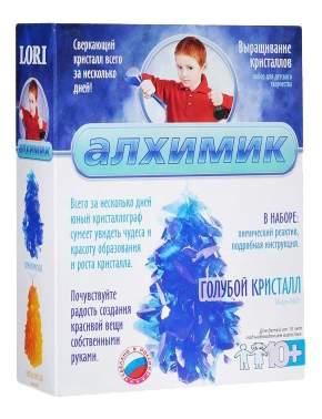 Набор для выращивания кристаллов Lori голубой Кристалл