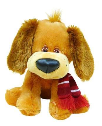 Мягкая игрушка LAVA Щенок с шарфом музыкальный