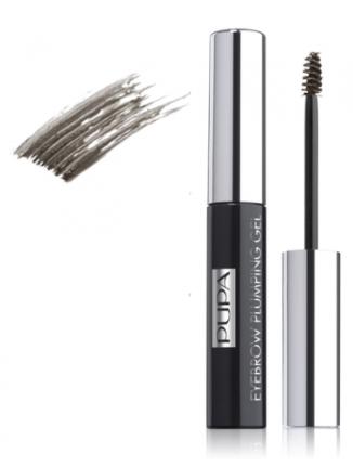 Пигментированный гель для бровей PUPA Eyebrow Plumping Gel, тон №003 Dark Brown