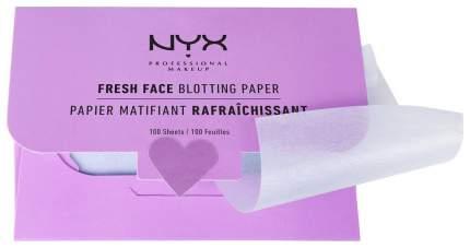 Матирующие салфетки NYX Professional Makeup Face Fresh Blotting Paper 100 шт