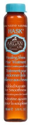 Масло для волос Hask Argan Oil Repairing Shine Oil 18 мл