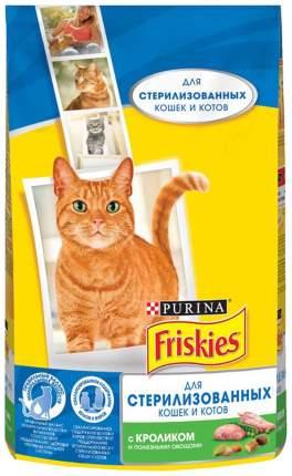 Сухой корм для кошек Friskies Sterilised, для стерилизованных, кролик, 1,5кг