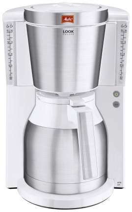 Кофеварка капельного типа Melitta Look IV Therm DeLuxe White/Silver