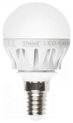 Лампа светодиодная (08138) E14 6W 4500K шар матовый LED-G45-6W/NW/E14/FR ALM01WH