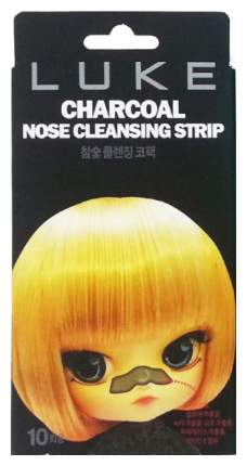 Средство для очищения 4Skin Luke Charcoal Nose Cleansing Strip от черных точек 10 шт