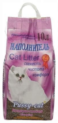 Наполнитель Pussy-Cat комкующийся 10 л 5 кг