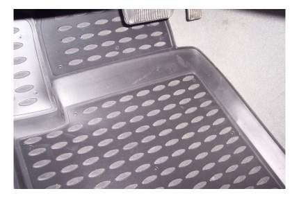 Коврики в салон DODGE Caliber 2006->, 4 шт, (полиуретан, серые)