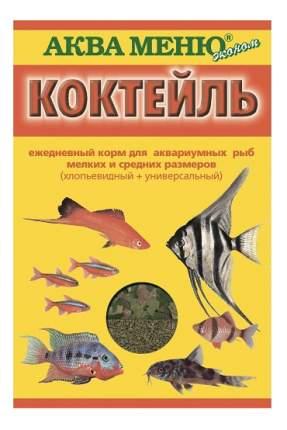 Корм для рыб Aquamenu, гранулы, палочки, хлопья, шарики, 20 г, 1 шт