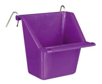 Кормушка для птиц TRIXIE, пластик, 65 мл, фиолетовый