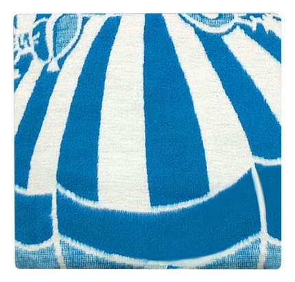 Одеяло Ермолино байковое х/б 100x118 голубой 57-6ЕТЖ