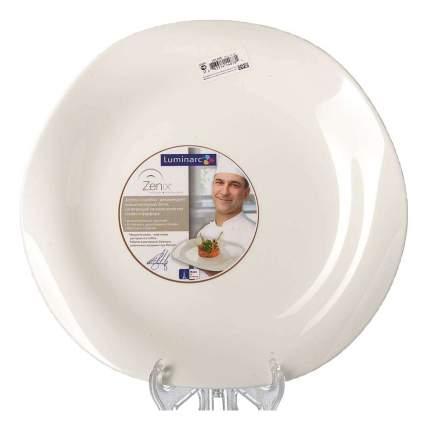 Тарелка Luminarc Volare White 27 см