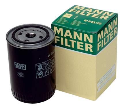 Фильтр масляный двигателя MANN-FILTER W940/21